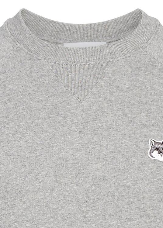 GREY FOX HEAD PATCH CLASSIC SWEATSHIRT image number 2