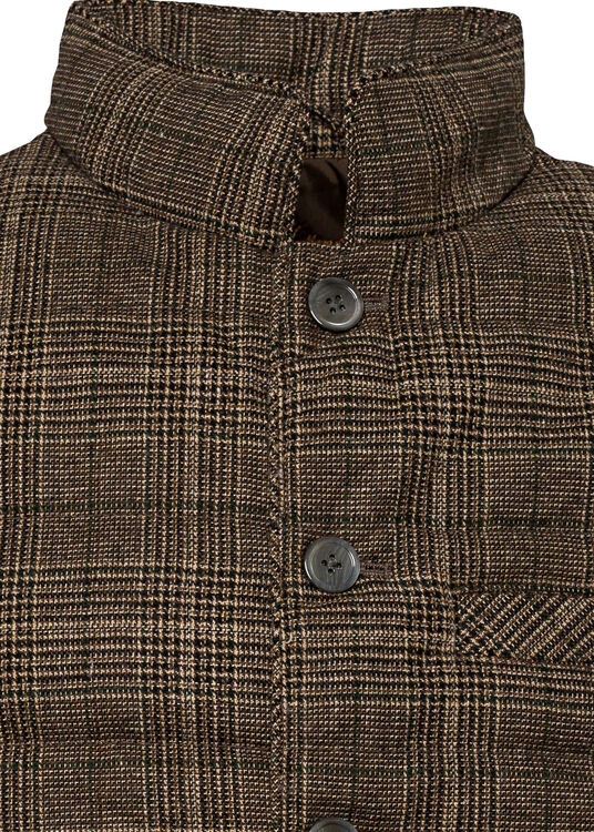 Quilt Check Wo Vest image number 2