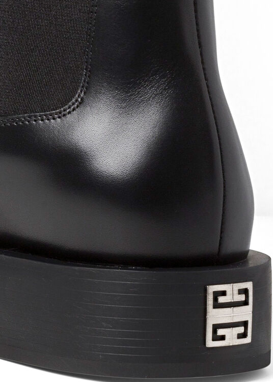 SQUARED FLAT CHELSEA ANKLE BOOT image number 3