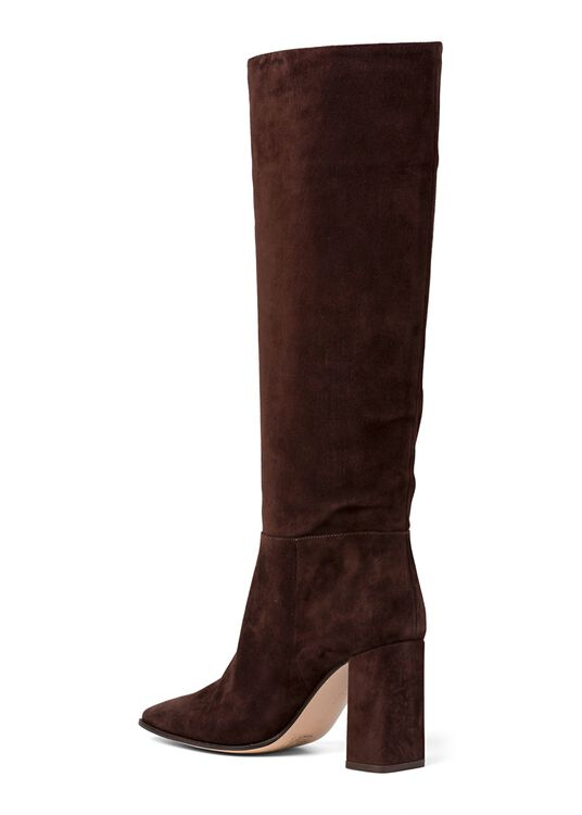 2_Squared Toe Boot Velour image number 2