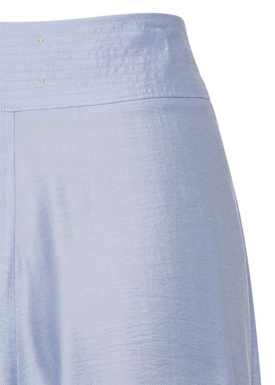 chic twill skirt image number 3