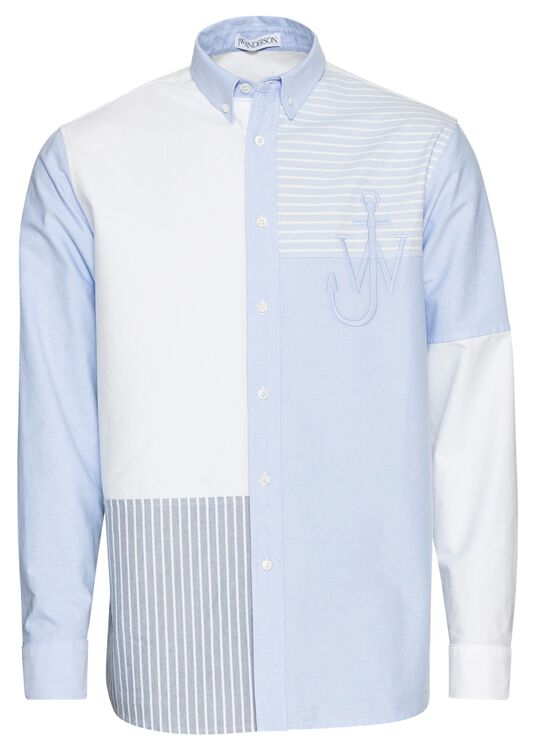 Relaxed Patchwork Shirt image number 0