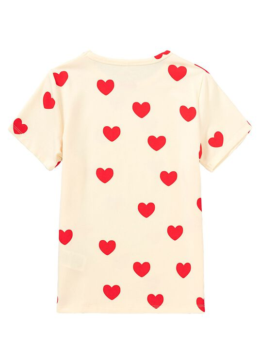 Heart SS Tee, , large image number 1