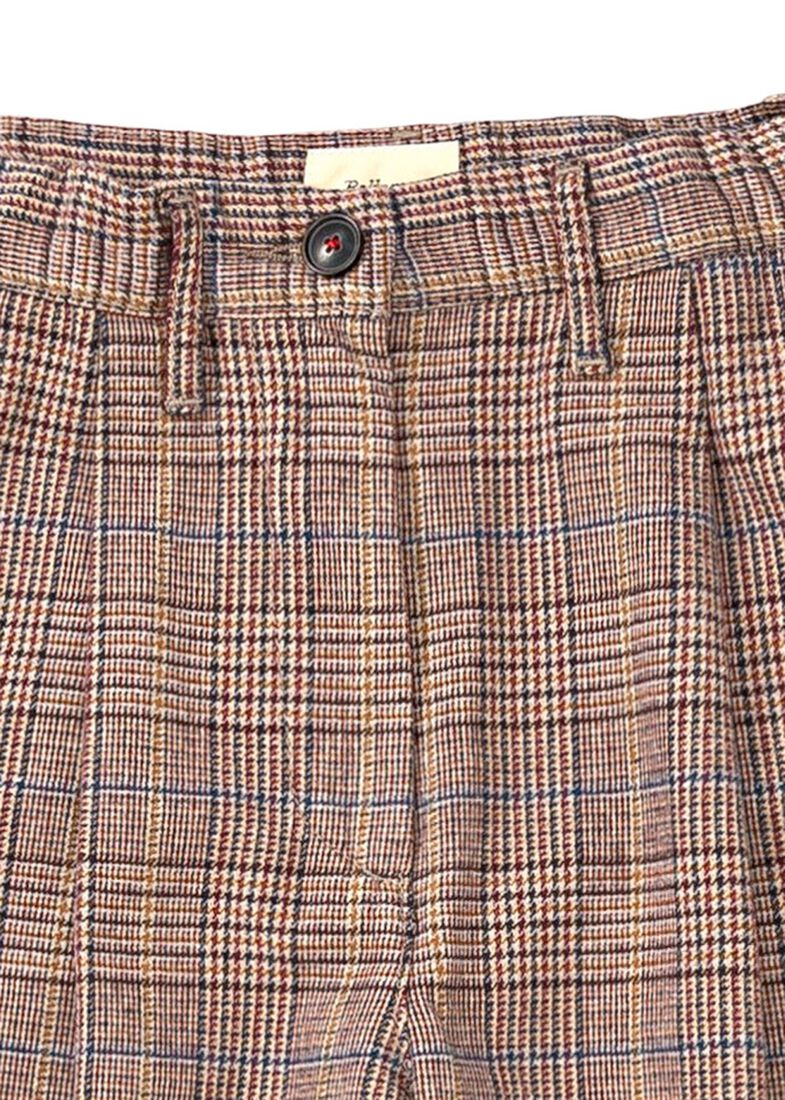 Pringle Check Wide Pants, Mehrfarbig, large image number 2