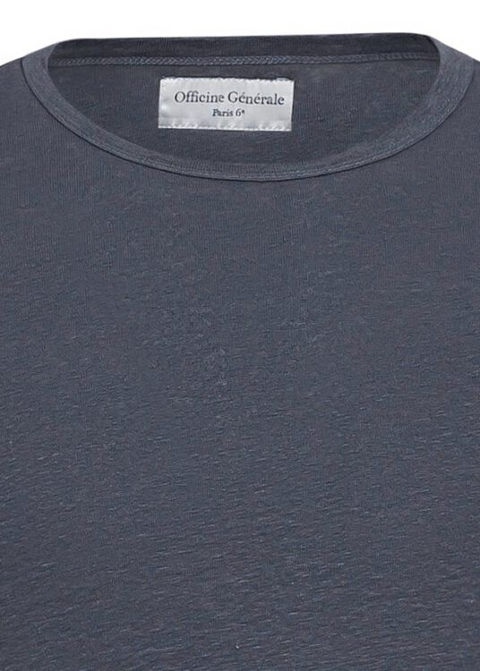 SS TEE PIECE DYED LINEN image number 2
