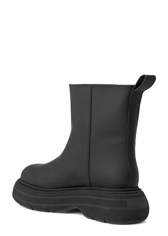 Short Black Rubber Boot image number 2
