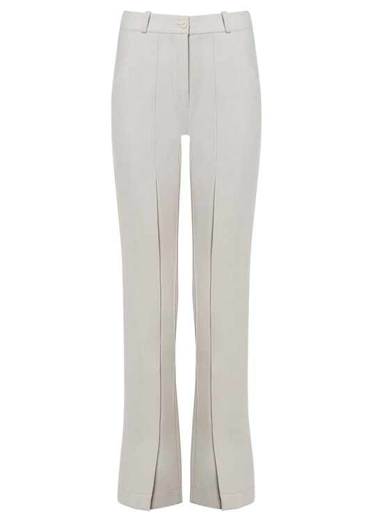 TIGHT HIGH WAIST PANTS WITH SLITS image number 0