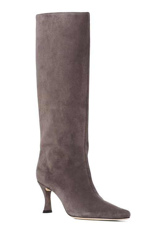Stevie 42 Anthracite Suede Leather image number 1