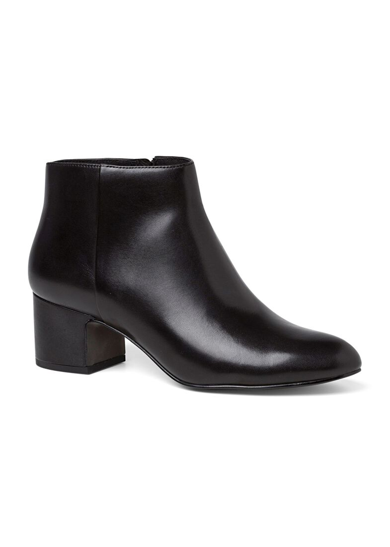 10_Marylin Classic Bootie Calf, Schwarz, large image number 1