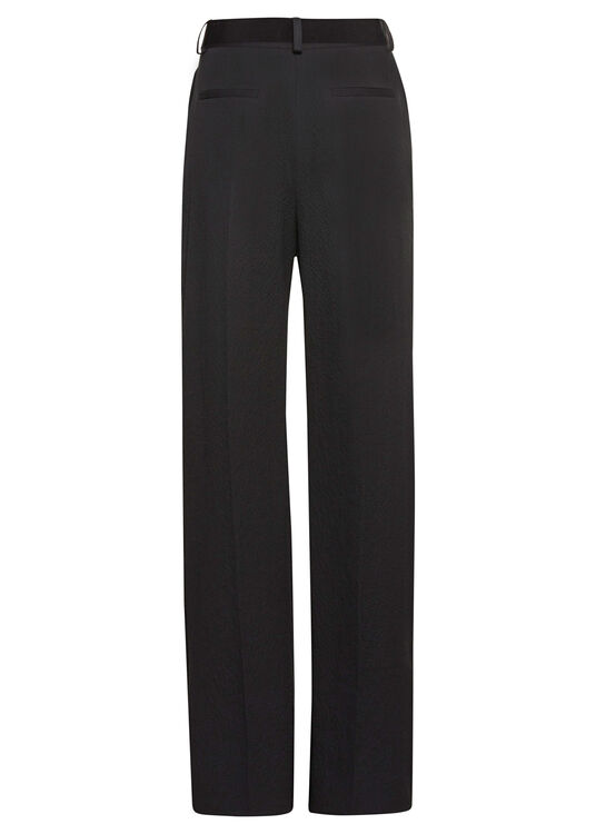 PLEATED BELTED TROUSER image number 1