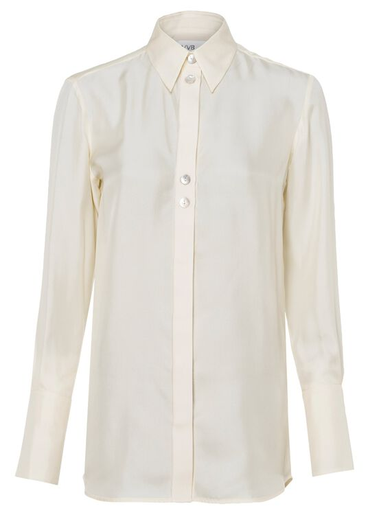 BUTTON DETAIL SHIRT, Beige, large image number 0
