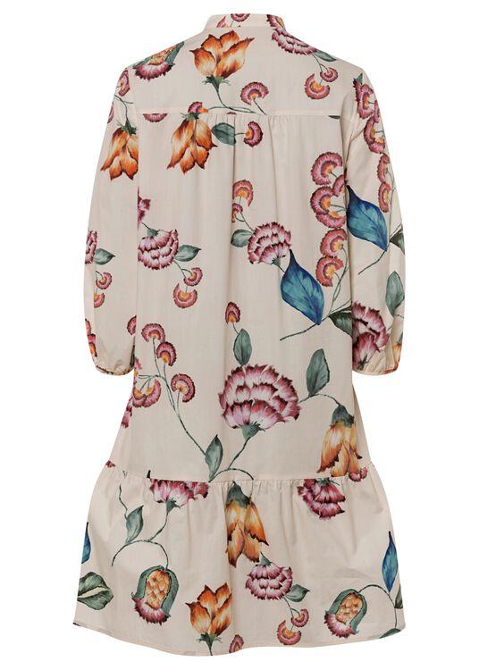 Kleid mit Flower-Print image number 1