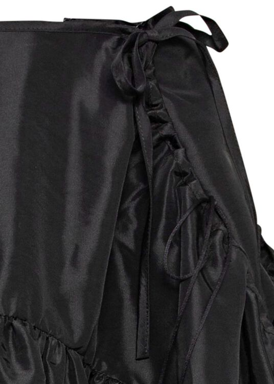 PANEL SKIRT WITH WIDE POCKETS image number 2
