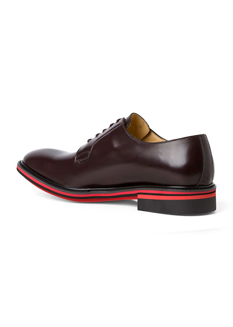 MENS SHOE ODELL BORDO, Rot, large image number 2