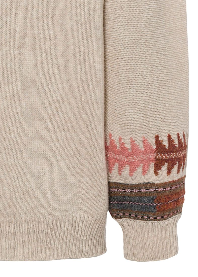 MAGLIA ABACO CLASSIC, Beige, large image number 3