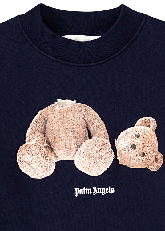 PALM ANGELS BEAR CREWNECK image number 2