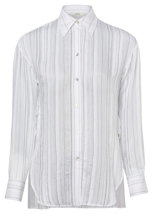 DRAPEY STRIPE CONVERTIBLE BUTTON Down image number 0