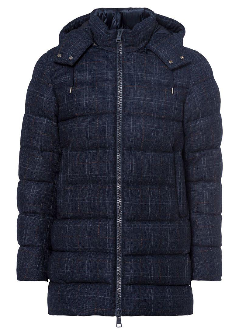 Men's Woven Half Coat, Blau, large image number 0