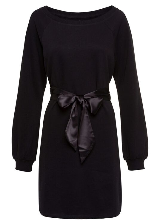 Fleece Dress with Sa image number 4