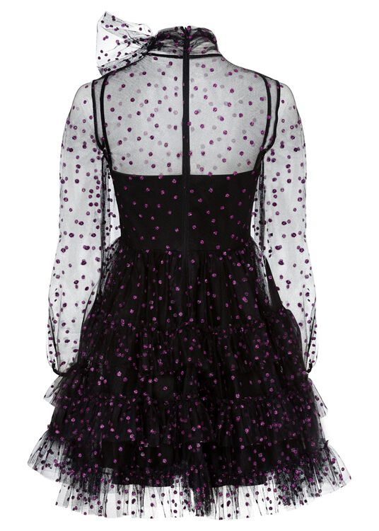 ABITO TULLE POIS GLITTER image number 1