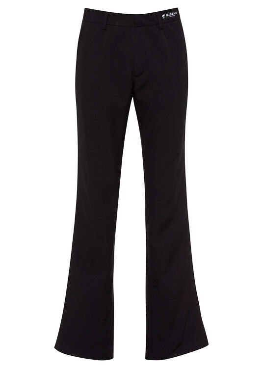 90'S NY BLACK TAILORED TROUSERS image number 0