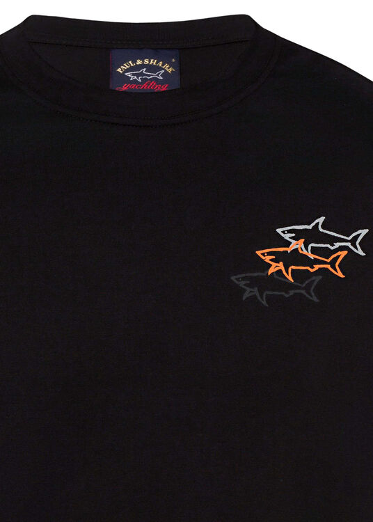 MEN'S KNITTED T-SHIRT C.W. COTTON image number 2