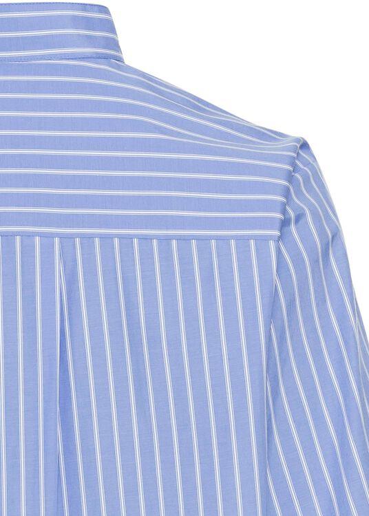 Schluppen-Bluse mit Streifen image number 3