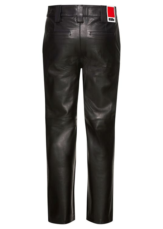 LEATHER WORK PANTS image number 1