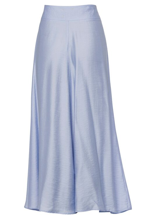 chic twill skirt image number 1
