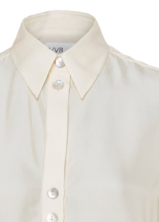BUTTON DETAIL SHIRT, Beige, large image number 2