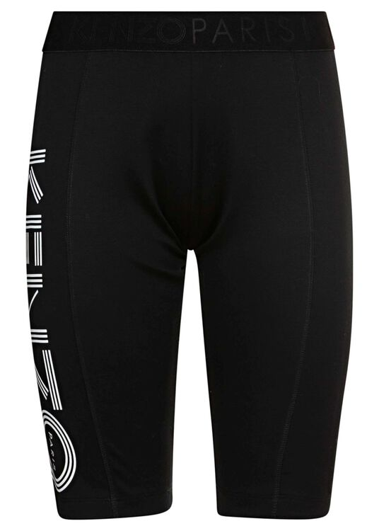 KENZO SPORT CYCLIST PANTS, Schwarz, large image number 0