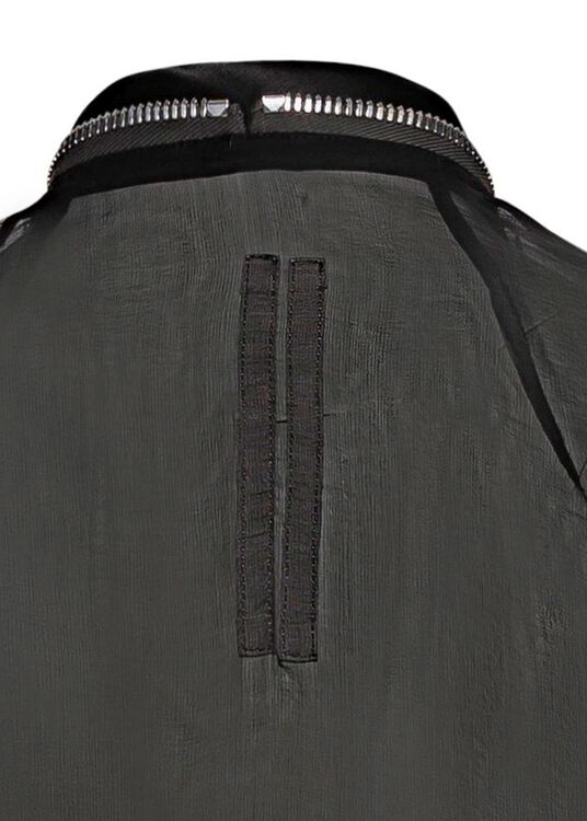 SHORT ZIPPED CAPE image number 3