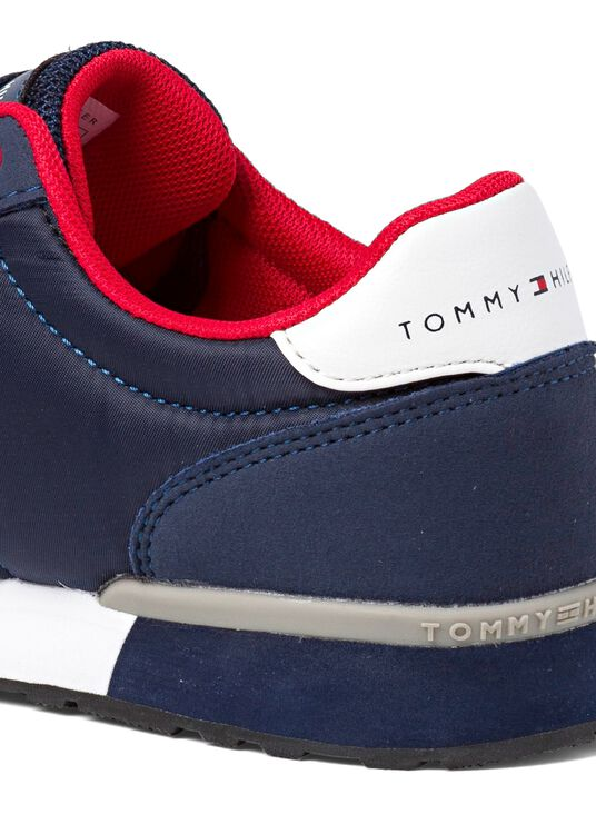 Low Cut Lace up Sneaker, Navy, large image number 3