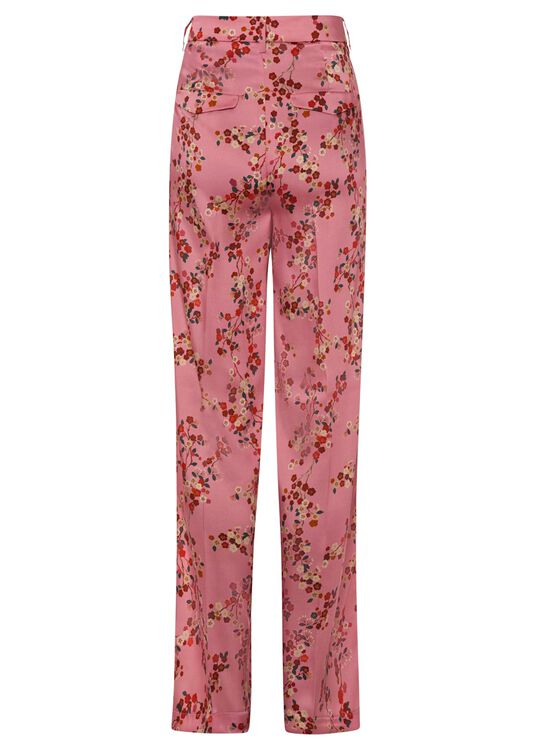 Hose mit Kirschblüten-Print image number 1