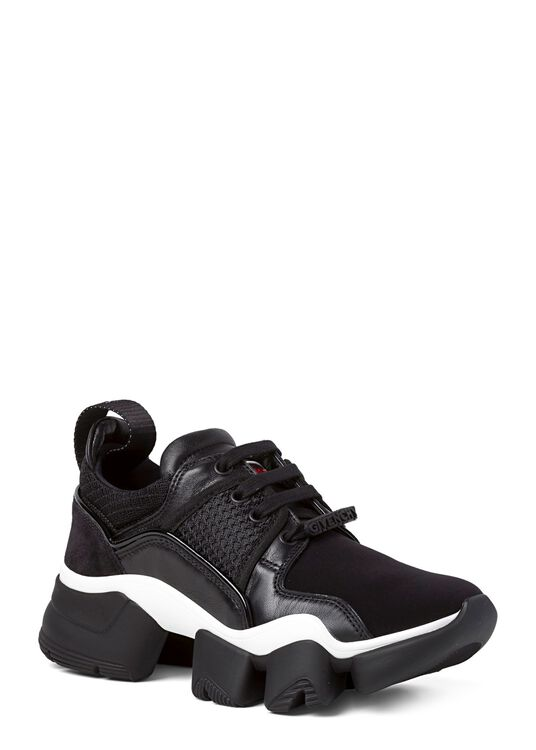 Jaw Low Sneaker Neoprene Mesh, Schwarz, large image number 1