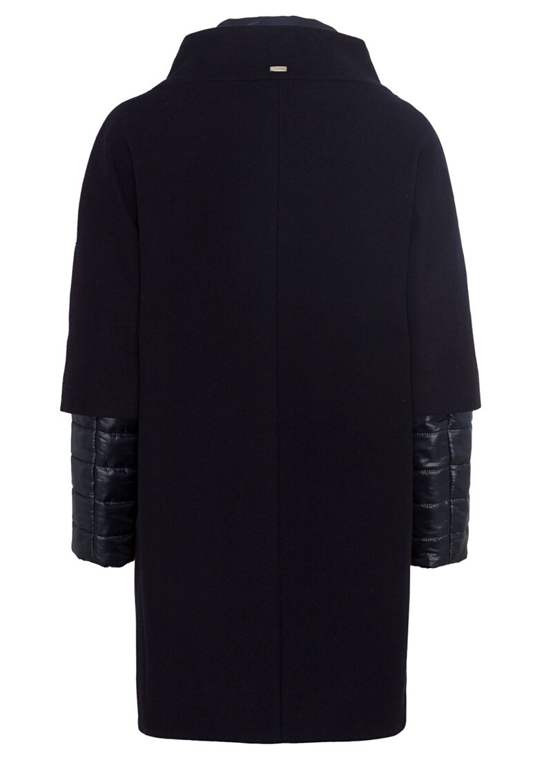 WOOL COAT W/ZIP, Blau, large image number 1