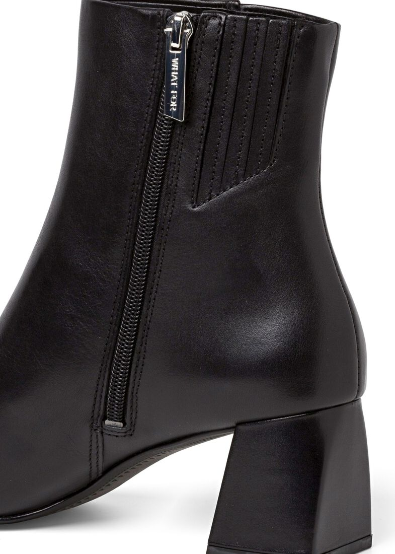 2_Giselle Ankle Boot Calf, Schwarz, large image number 3
