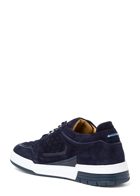 Low Top - Turbo - Blue Velour image number 2