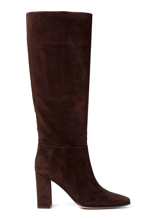 2_Squared Toe Boot Velour image number 0
