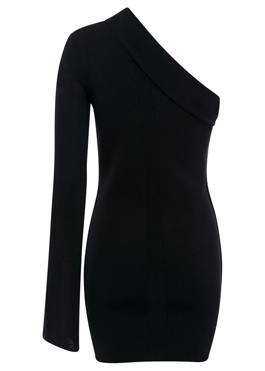 ATHENA CAPE SLEEVE MINIDRESS image number 1