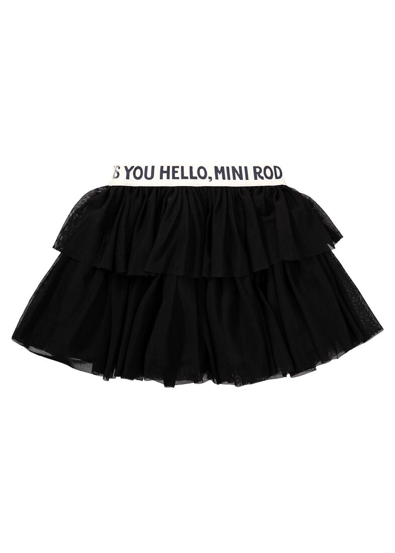 Tulle Skirt, Schwarz, large image number 1