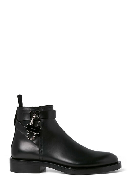 LOCK ANKLE BOOTS image number 0