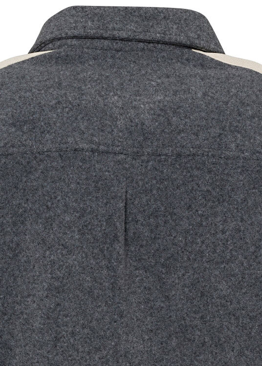 WOOL TRACK SHIRT image number 3
