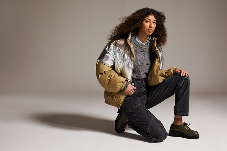 Winter Spotlight. Winter Trend Puffer Jacket. Voluminöse Daunenjacken im Sale.