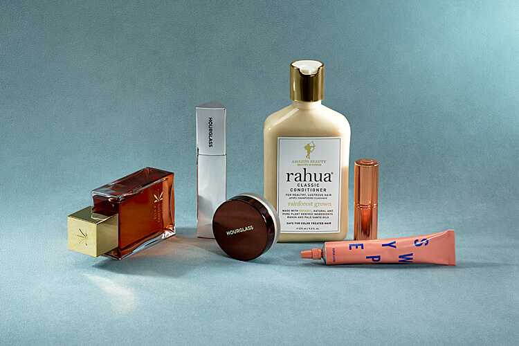 Still Life mit Beauty und Make-up-Produkten