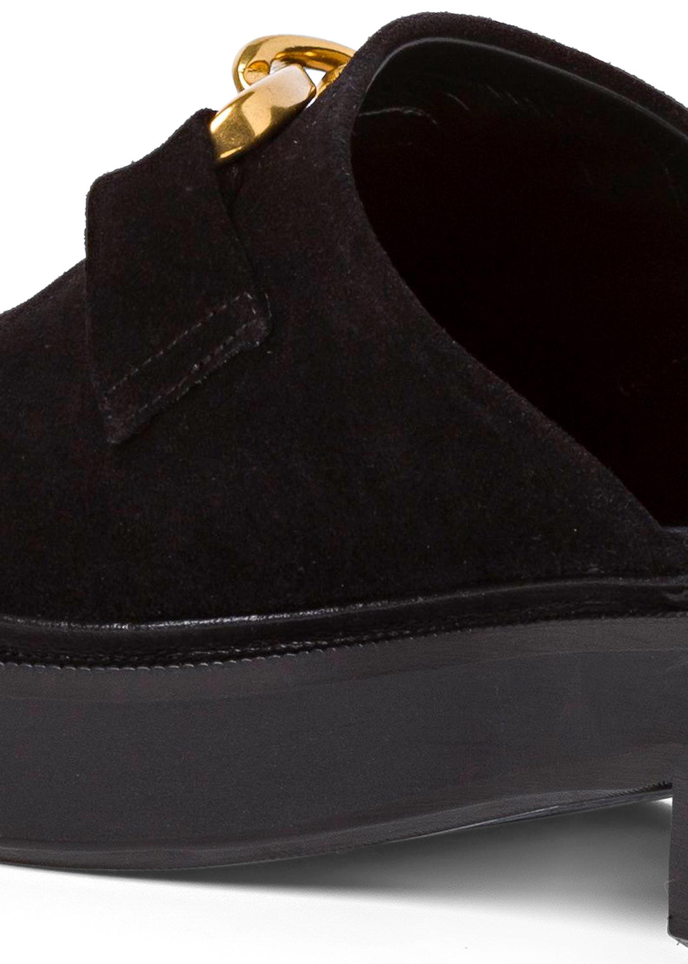Walker Black Suede Leather image number 3
