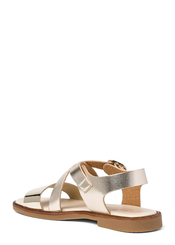 Cross Sandal Metallic image number 2