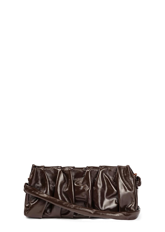 Long Vague Patent Baguette Bag image number 0