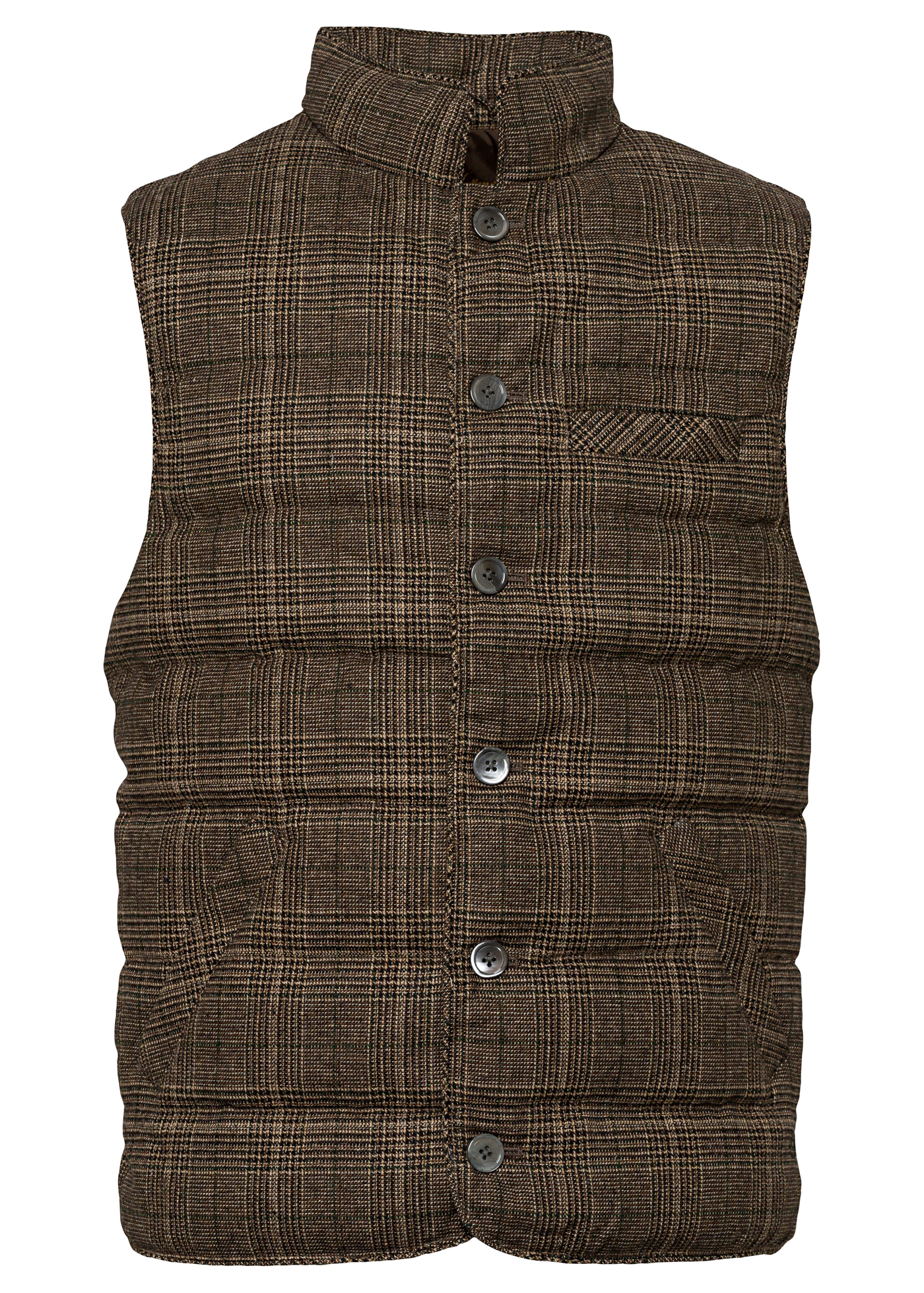 Quilt Check Wo Vest image number 0