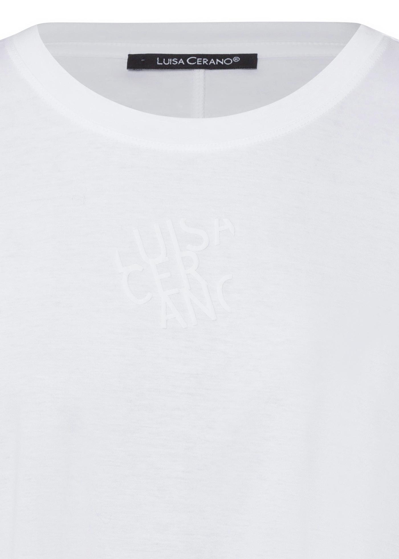 T-Shirt mit Logo-Prin image number 2